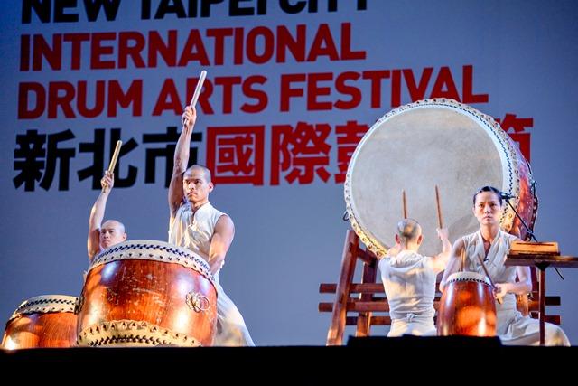 新北市國際鼓藝節─國內團體表演打鼓藝術